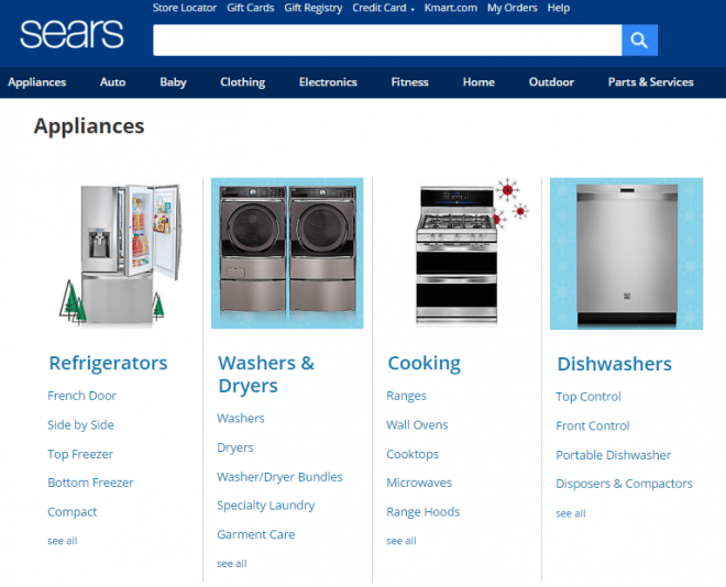 Sears Appliances