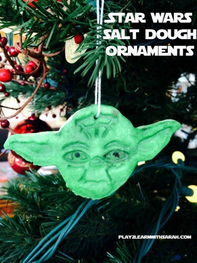 Star Wars Salt Dough Ornaments