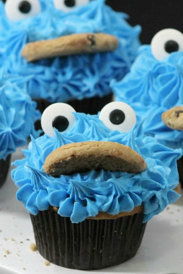 TUTORIAL-COOKIE-MONSTER-CUPCAKES