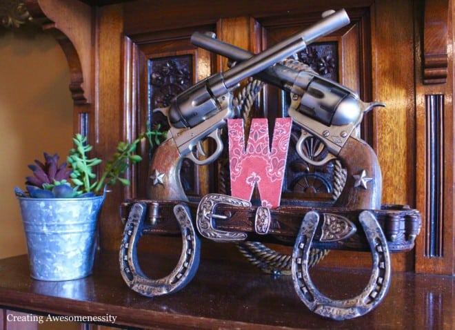 Western Themed Cowboy Birthday Party Decoration Ideas