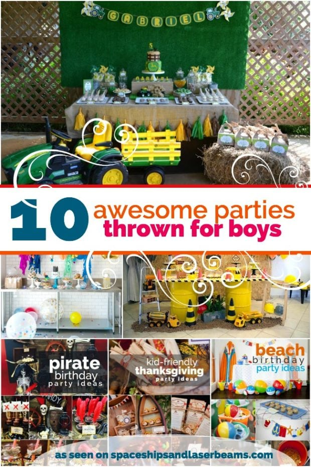 10 Awesome Birthday Party Ideas for Boys