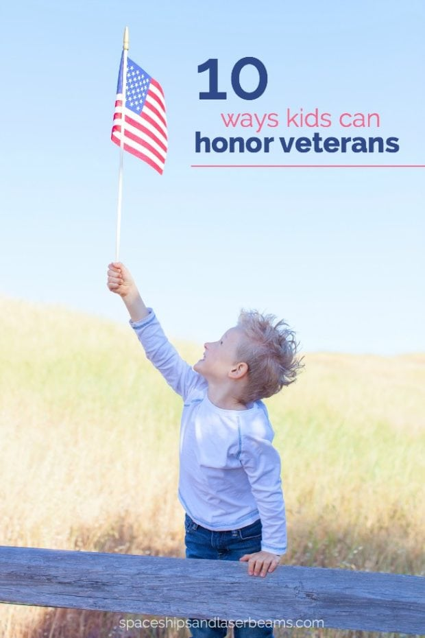 10 Ways Kids Can Honor Veterans