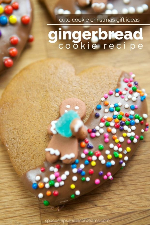 Gingerbread cookie recipe free printable gift tags spaceships cute gingerbread cookie gift ideas negle Choice Image