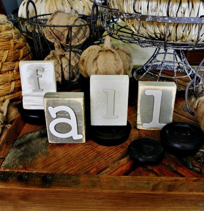 DIY Wood Block Letters How To