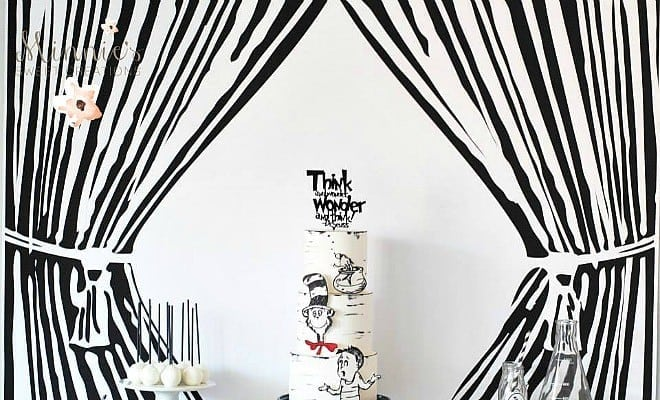 feature-Boys Cat in the Hat Birthday Party Table Idea