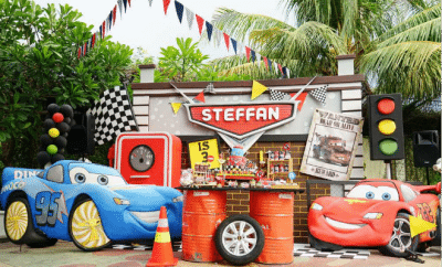 Boy's Car Themed Birthday Party Ideas