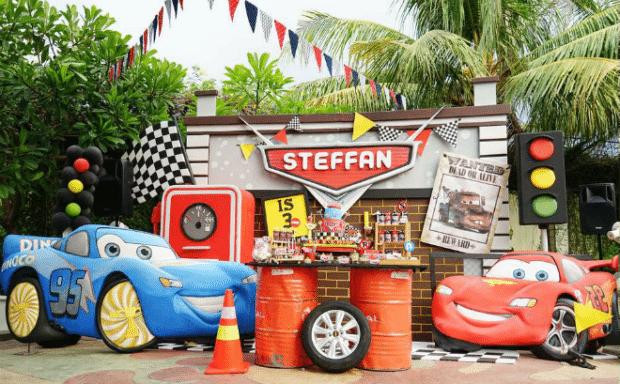 Boy's Car Themed Birthday Party Ideas