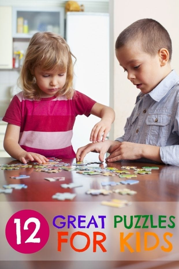 12 Great Puzzles for Kids