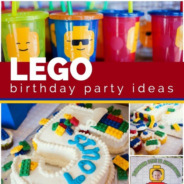 An Awesome LEGO Birthday Party