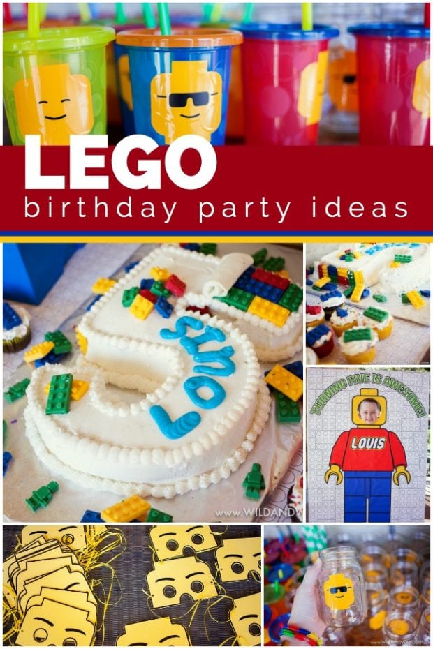 Enjoyable An Awesome Lego Birthday Party Spaceships And Laser Beams Funny Birthday Cards Online Barepcheapnameinfo