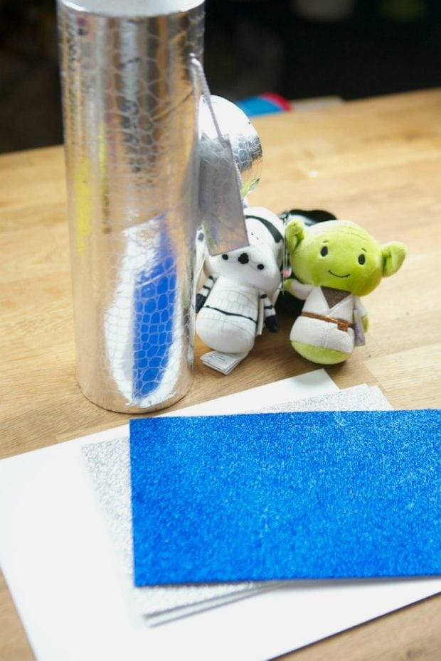 DIY Star Wars Gift Wrapping