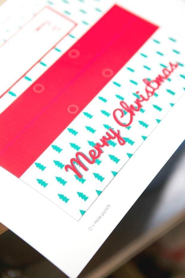 Free Merry Christmas Printable