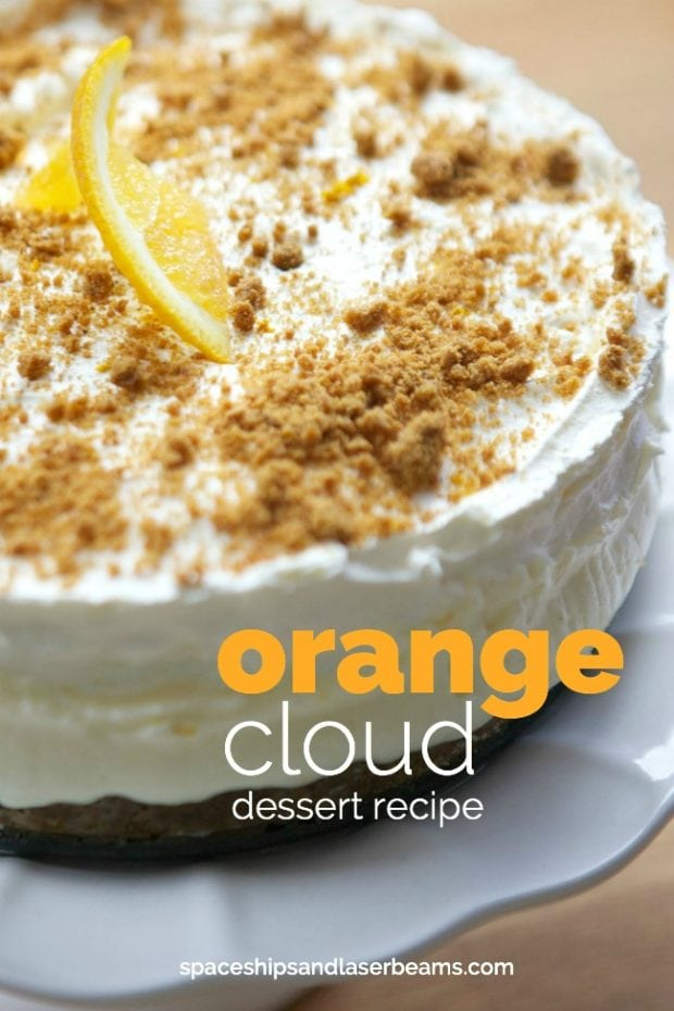Orange Cloud Dream Dessert