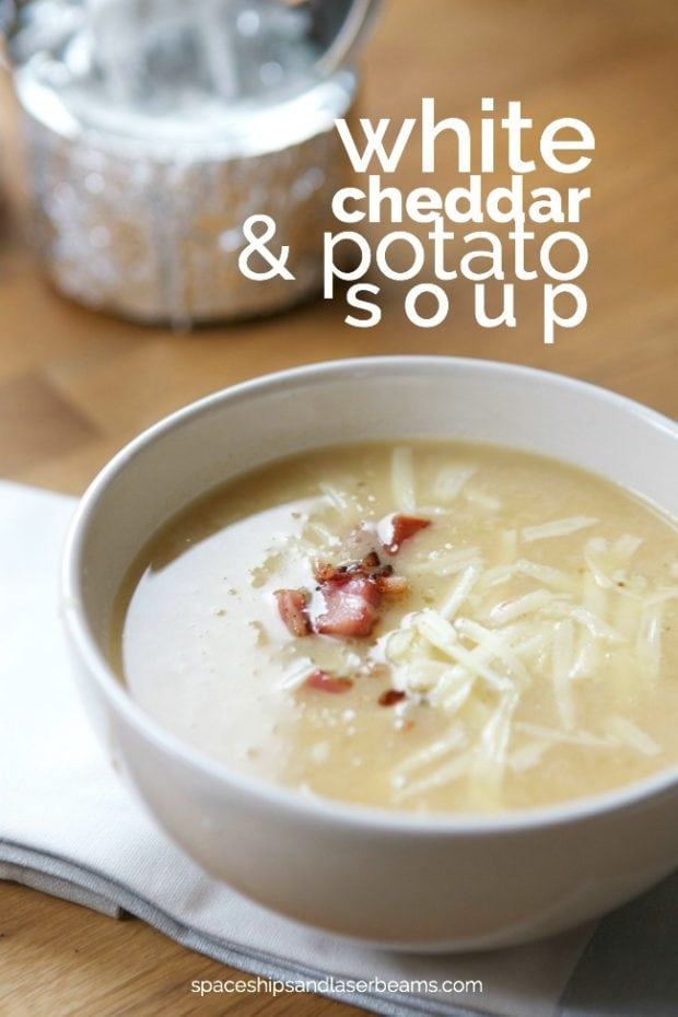 White Cheddar and Potato Soup