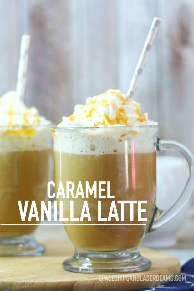 Caramel Vanilla Latte Recipe