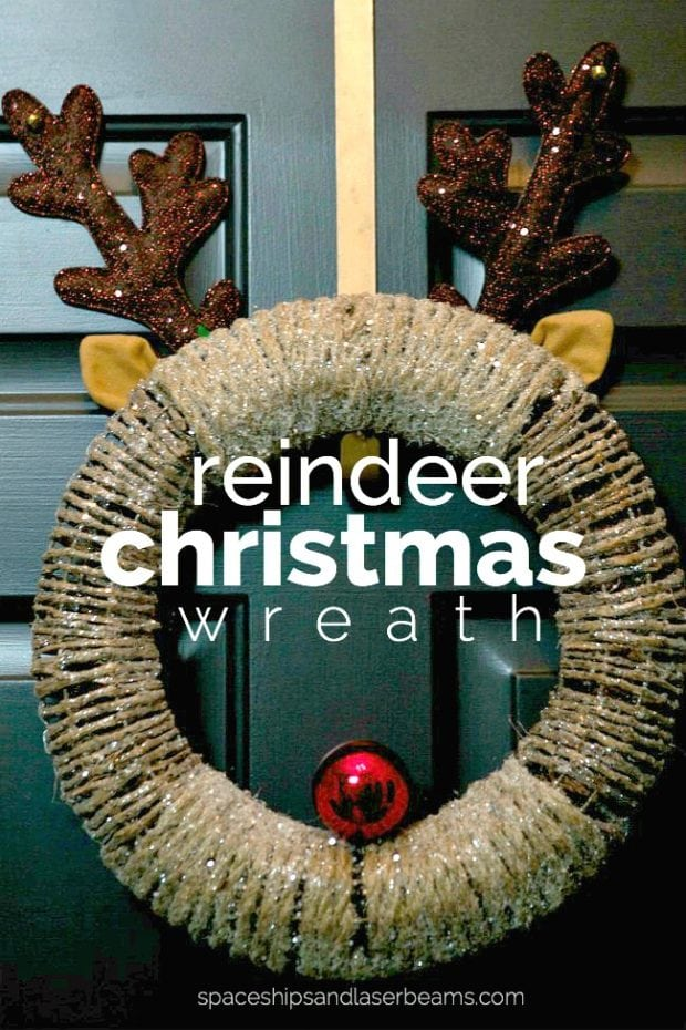 Reindeer Christmas Wreath How To