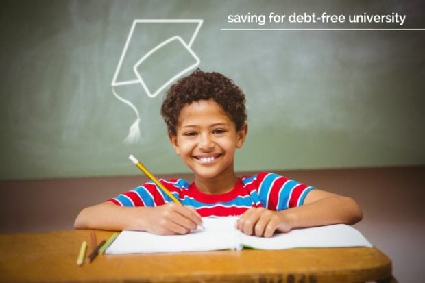 Saving for Debt Free University