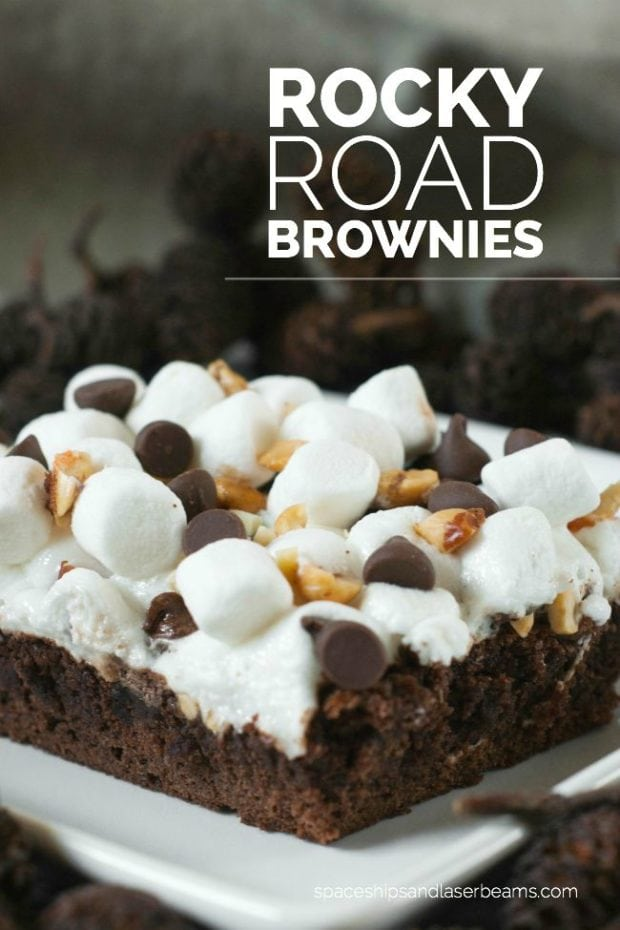 Chocolate Rocky Road Birthday Cake Recipe