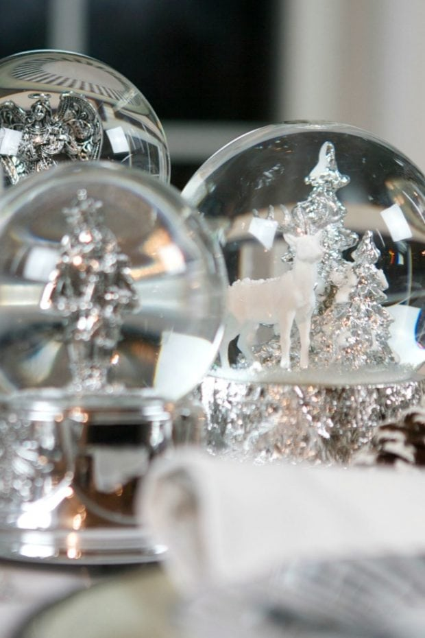 Snow Globes for Table Decor