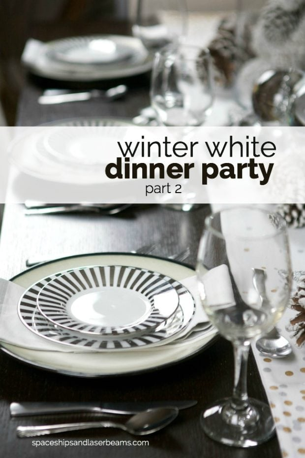 Winter White Dinner Party Ideas