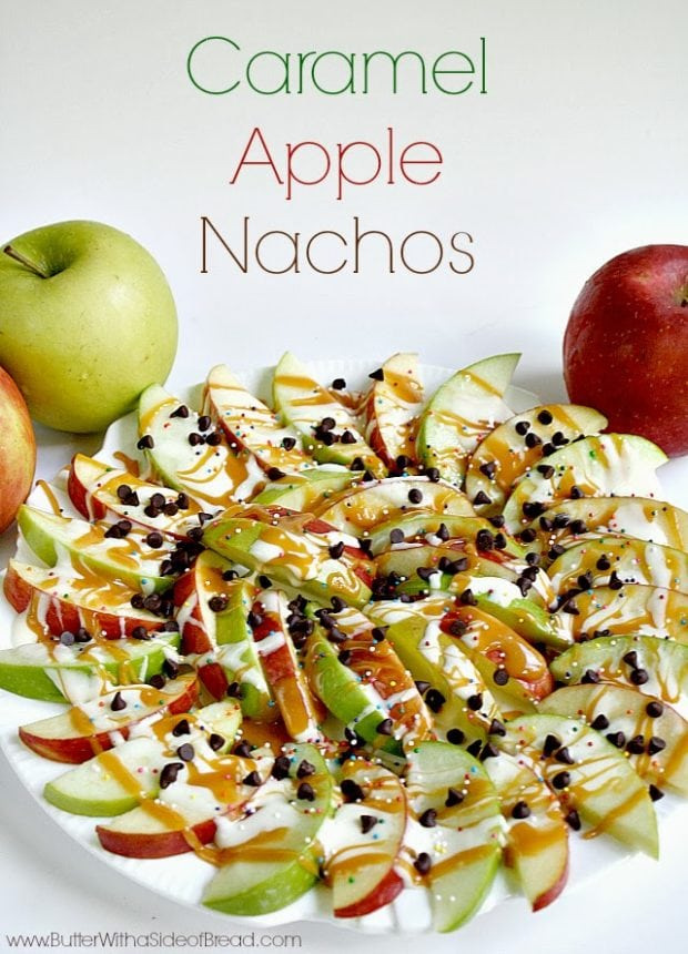 1 Caramel Apple Nachos