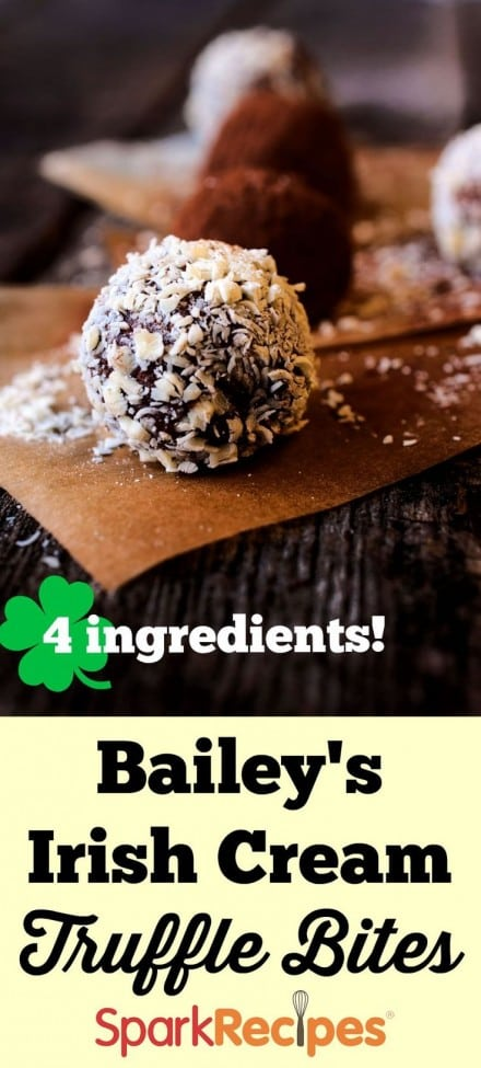 Baileys Irish Cream Truffle Bites