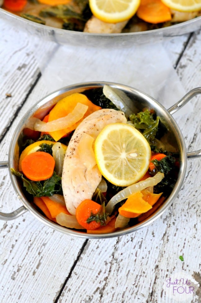 One Pot Chicken & Kale