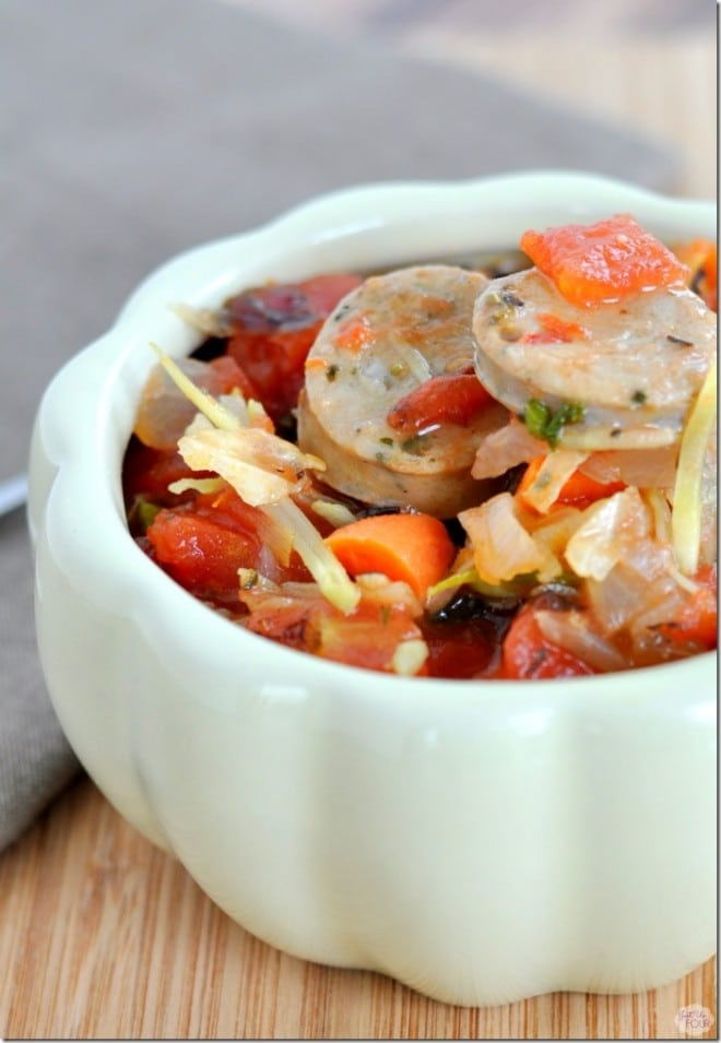 Paleo Chicken Sausage Stew