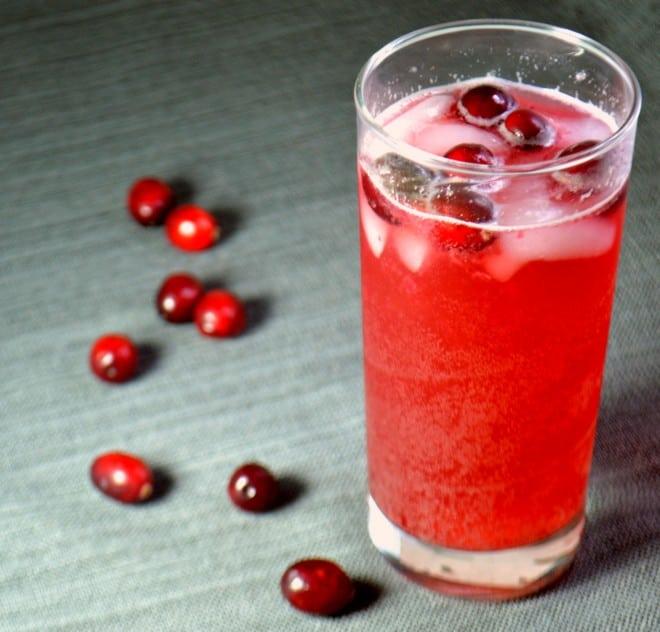 Berry Bourbon Spritzer