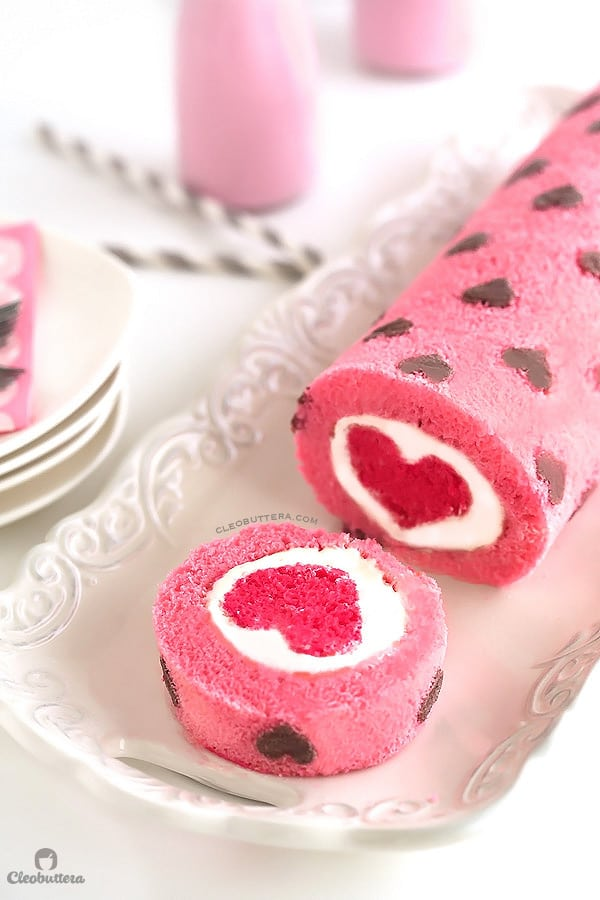 Love is All Around Cake Roll