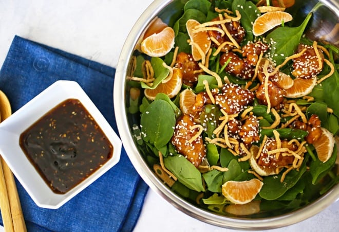 General Tso's Chicken Salad