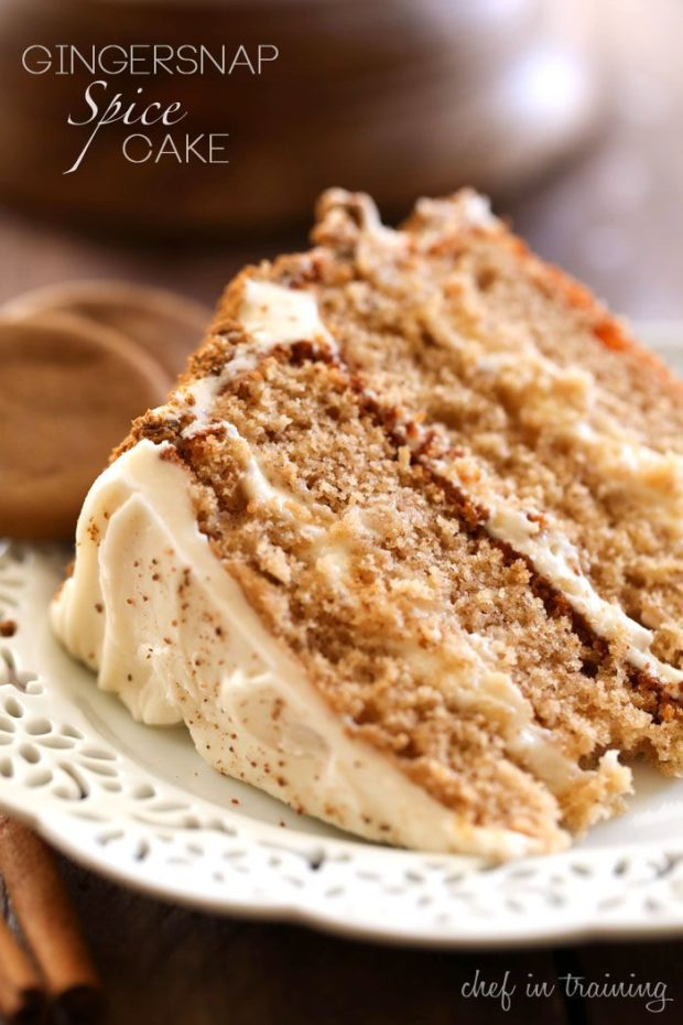 Gingersnap Cake Pops