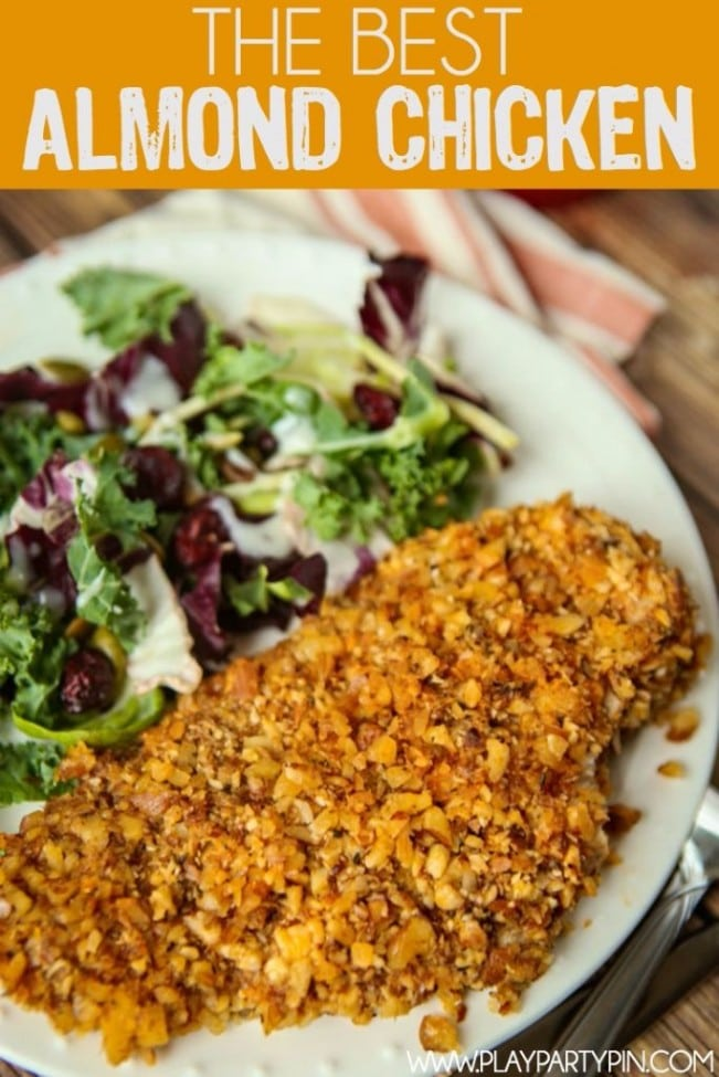 Paleo Almond Chicken Recipe