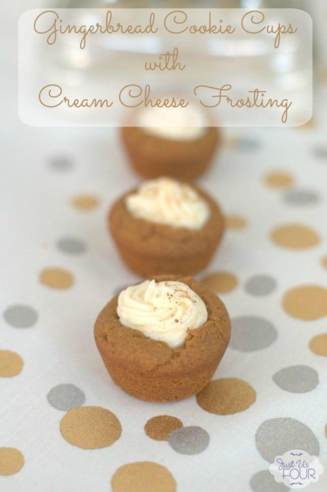 Gingerbread Cookie Cups