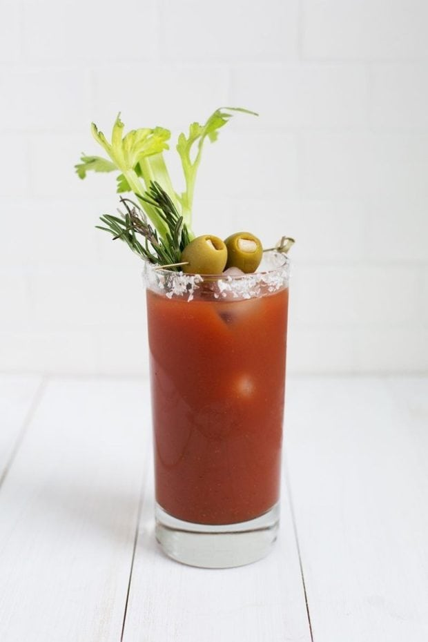 Classic Bloody Mary Mocktail