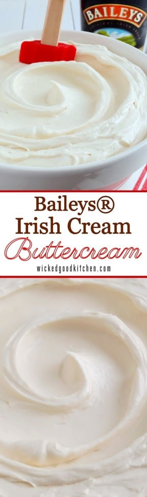 Baileys Irish Cream Buttercream