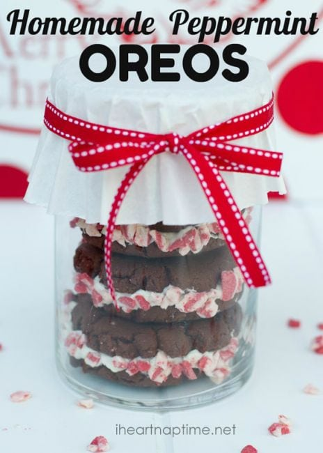 28 Homemade Peppermint Oreos