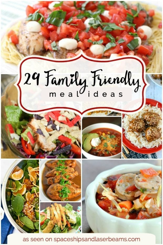 29 Family Friendly Meals