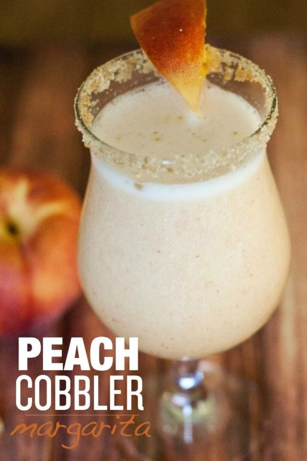 Peach Cobbler Margarita