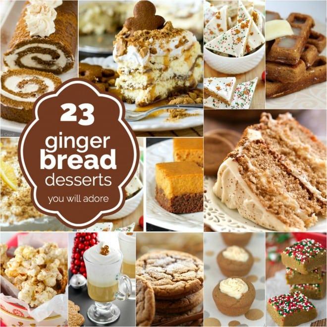 Gingerbread Dessert Recipes