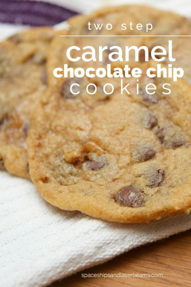 Two Step Chocolate Chip Cookies