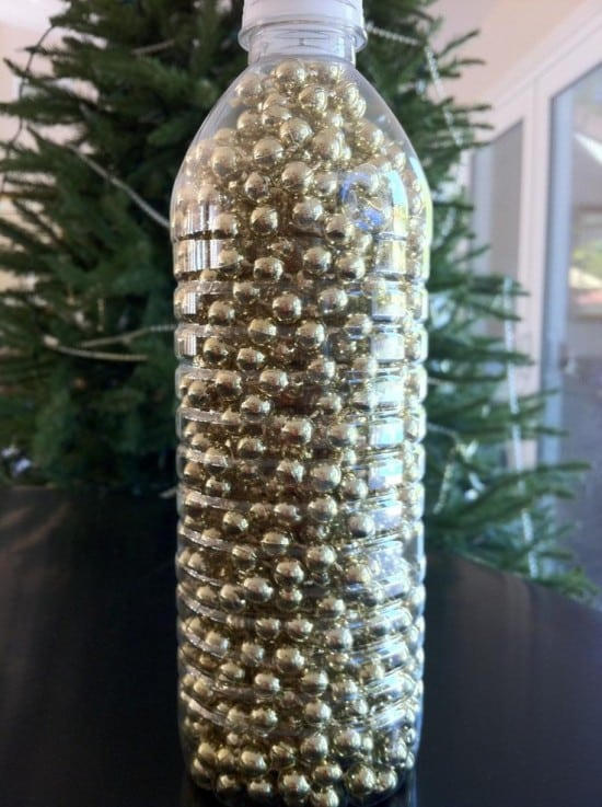 Bottled Bead Garland Container