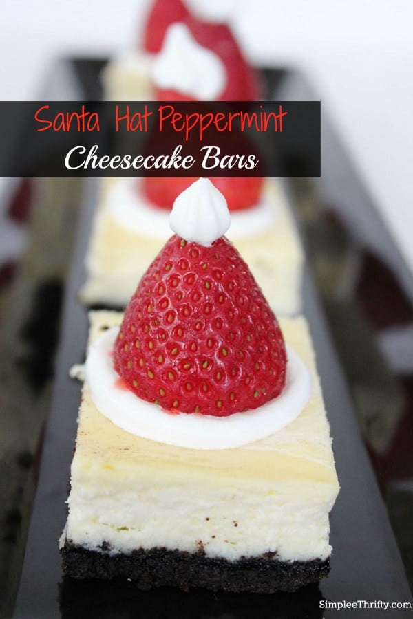 Santa-Hat-Peppermint-Cheesecake-Bars