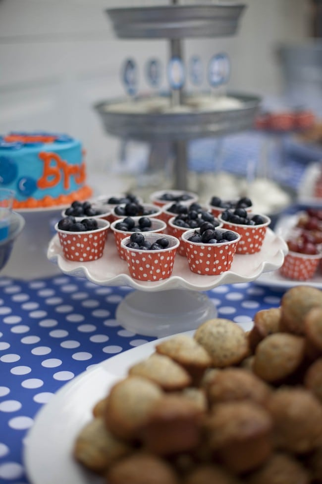 Boys Bubble Birthday Party Food Ideas