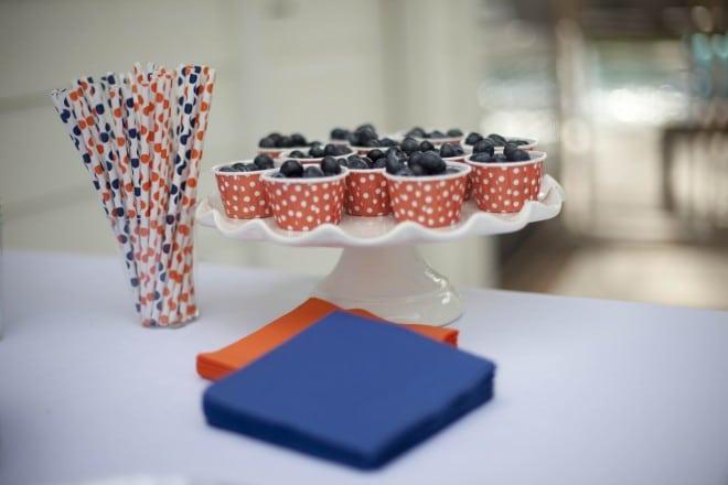 Boys Bubble Birthday party Fruit Ideas