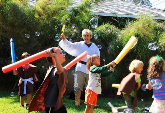 Boys Star Wars Birthday Party Jedi Training Ideas