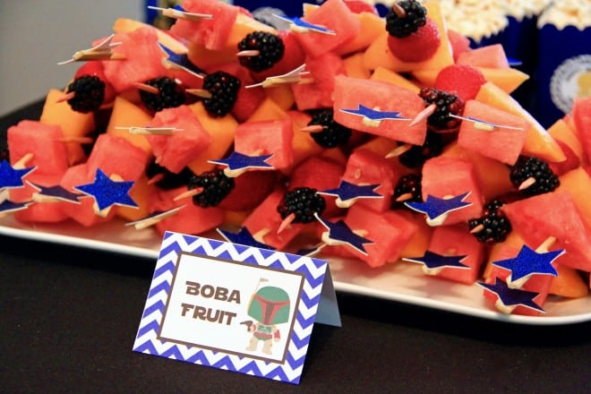 Boys Star Wars Party Food Fruit Ideas