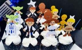 Boys Star Wars Themed Birthday Party Food Cupcake Ideas
