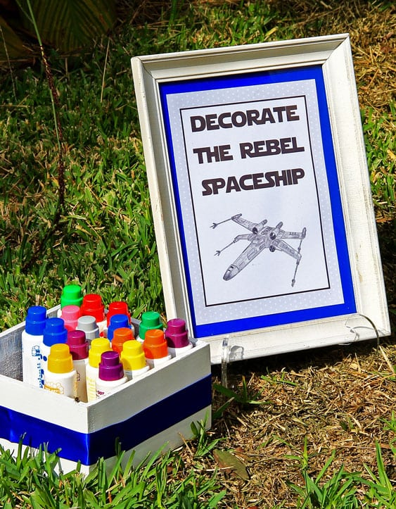 Boys Star Wars Themed Birthday Party Game Activity Ideas