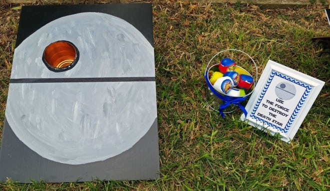 Boys Star Wars Themed Birthday party Game ideas